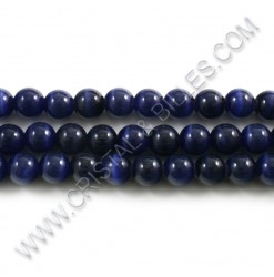 Cat eye Dark blue 08mm -...