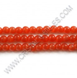 Cat eye Dark Orange 06mm -...