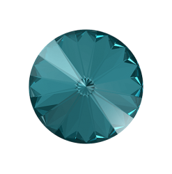 1122 10mm Rivoli, Blue Zircon