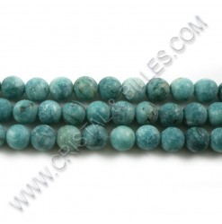 Agate crazy pale turquoise,...
