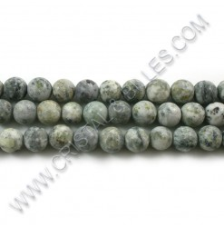 Agate crazy cornsilk, 08mm...
