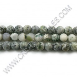 Agate Tree matte, 06mm -...