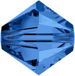 5328 4mm, Capri Blue - Qté...