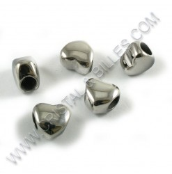 Bead heart 10x11mm,...
