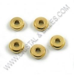 Beads 8x2.5mm, Stainless...