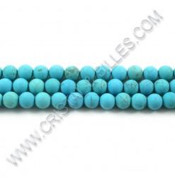 Turquoise naturelle 06mm -...