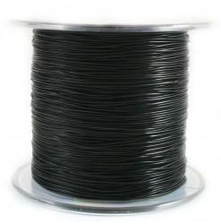Elastic wire 0.8mm, Black -...