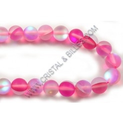 Moonstone synthetic, Pink...