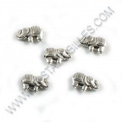 Bead elephant 13x9mm,...