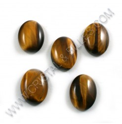 Cabochon 20x15mm Tiger eye...