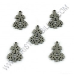 Charm Flower 17x14mm, SS...