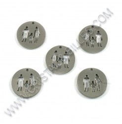 Charm Family 15mm, SS 304 -...