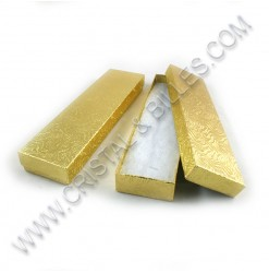 Box 200x50x20mm, Gold - Qty...