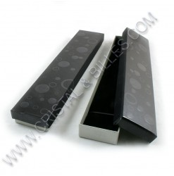 Box 210x45x20mm, Black -...