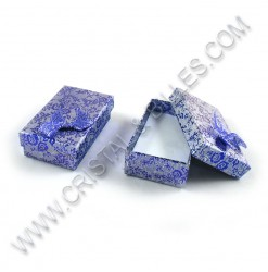 Box 80x50x30mm, Blue - Qty : 6