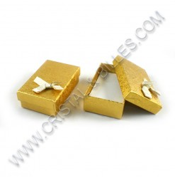 Box 80x50x30mm, Gold - Qty : 6