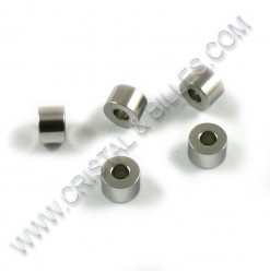 Beads 06x04mm, SS 304 - Qty...