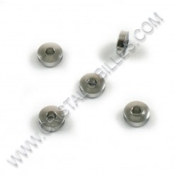 Beads 05x02mm, SS 304 - Qty...
