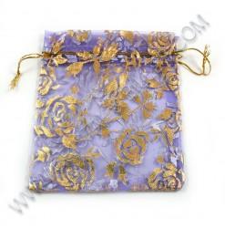Organza 10X12cm, Purple -...