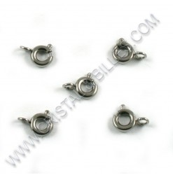 Clasp spring ring 5mm, SS...