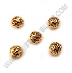 Beads filigree 5mm, Stain....