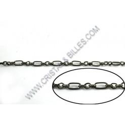Chaine Figaro 11x5mm,...