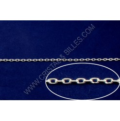Chaine rectangulaire 4x2mm,...