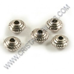 Metal bead 05x03mm, Antique...