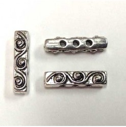 Spacer bar 3 holes 4x18mm,...