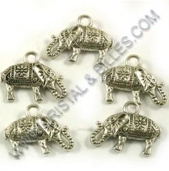 Pendant elephant 13x17mm,...