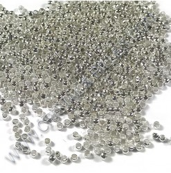 Crimp beads 2.5mm, Silver