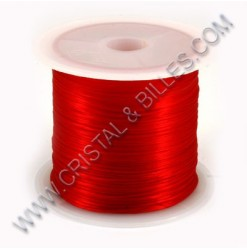Elastic wire 0.8mm X 11m, Red