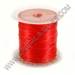 Elastic wire 1.0mm X 10m, Red