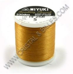 Nylon thread size B, Gold 5