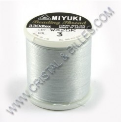 Nylon thread size B, Silver 3
