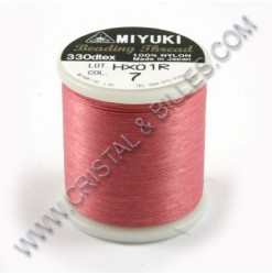 Nylon thread size B, Pink 7