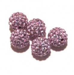 Billes shamballa 10mm...