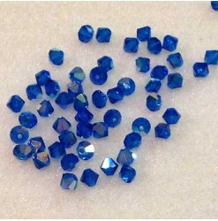 4mm Capri blue AB