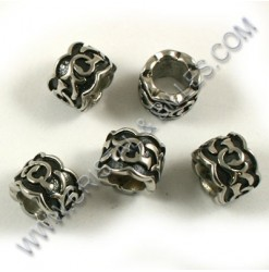 Bead 08x11mm, Stainless 304...