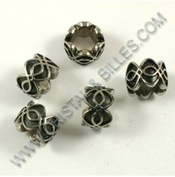 Bead 7.5x11mm, Stainless...