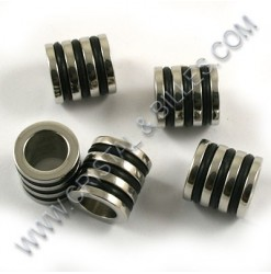 Bead 10x10mm, Stainless 304...