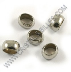 Bead 05x03mm, Stainless 304...