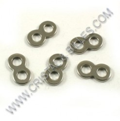 Spacer 11x06mm, Stainless...