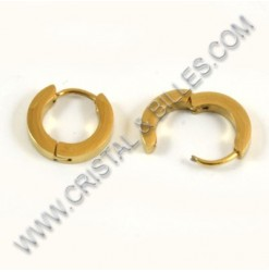 Bail 13.5mm, Stainless gold...