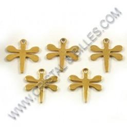Charm dragonfly 11x12mm,...