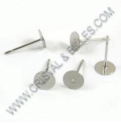 Earring stud pad 06mm,...