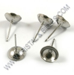 Ear stud bowl 08mm,...