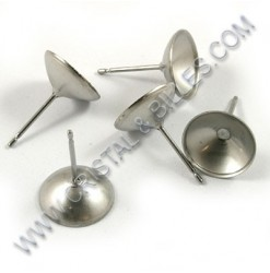 Ear stud bowl 10mm,...