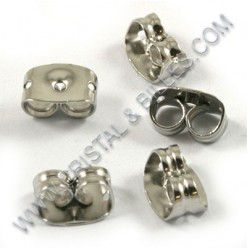 Ear clutch 06mm, Stainless...