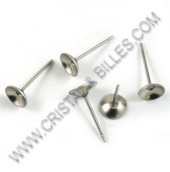 Ear stud bowl 06mm,...